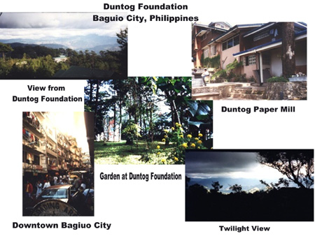 Views of Duntog Foundation and Baguio City