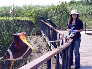 Wu Ling-i Director of Guandu Nature Park and Jane's Birds